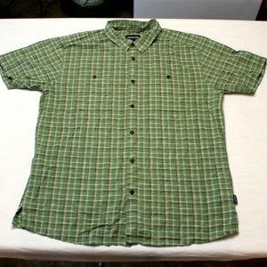 Patagonia Short Sleeve Front Pocket Button Shirt